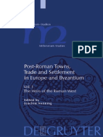 Post-Roman Towns, Trade and Settlement in Europe and Byzantium Vol.1