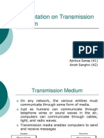 Presentation on Transmission Medium.ppt