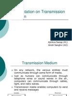 Presentation on Transmission Medium.ppt