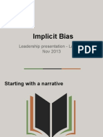 Implicit bias presentation