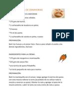 Tarta de Zanahorias