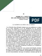 Carnap 1934 Sobre El Caracter
