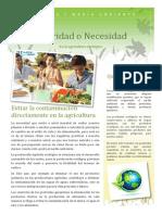 Prioridad o Necesidad - Ecologia y Medio Ambiente