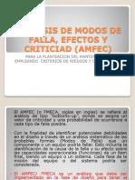 Analisis de Modos de Falla, Efectos y