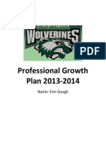 professional growth plan 2013