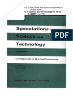 Jc Perez in Speculations in Science and Technology 1991