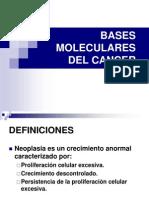 Bases Moleculares del Cáncer