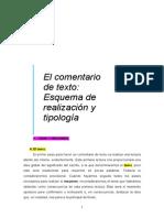 Apuntes Comentario de Texto Buenos