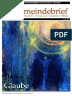 Gemeindebrief 2011 04 Ostern - 5. Ausgabe
