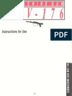 28577868 Sub Machine Gun MGV 176 Manual