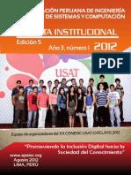 Revista 5ta Edicion Apeisc Oficial