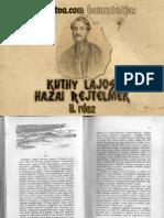 Kuthy Lajos - Hazai Rejtelmek 2. kötet