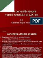 Curs istoria muzicii