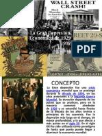 LA GRAN DEPRESION ECONOMICA DE LOS AÑOS 30