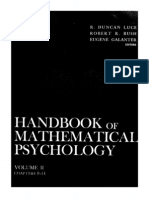 Handbook of mathematical psycology_ vol. II