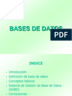 Introduccion a Bases de Datos