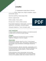 Angico-vermelho - Parapiptadenia rigida (Benth.) Brennan - Ervas Medicinais - Ficha Completa Ilustrada