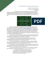 Gap-Based Delivery and Program Management