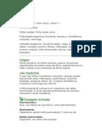 Babosa - Aloe vera (L.) Burm. F. - Ervas Medicinais - Ficha Completa Ilustrada