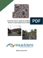 ESTUDIO DE SUELOS Y DISEÑO DE PAVIMENTOS PARA EL proyecto paseo urbano DE LAS CARRERAS 8A Y 9