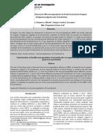 Determinación de la Eficiencia de Microencapsulación de Aceite Esencial de Orégano