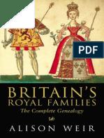 Britain 39 s Royal Families Weir Alison