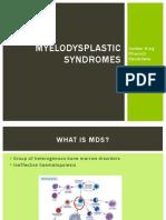 myelodysplastic syndromes1