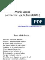 0 Microcuentos de Héctor Ugalde Corral