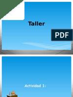Taller en Clase Diapositivas