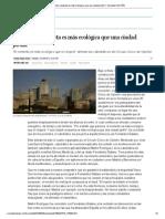 """""""Una urbe compacta es más ecológica que una ciudad jardín"""" _ Sociedad _ EL PAÍS"""