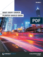 What Every Church Planter Should Know, V2