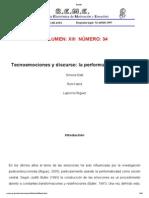 Tecnoemociones y Discurso La Performance Emocional_Belli