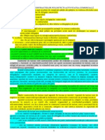 caracteristici contracte