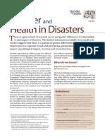 Gender Disasters