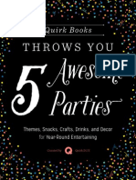 Quirk Books Throws You Five Awesome Parties!