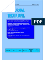 Analisis Struktur Bendung Dengan Metode Elemen Hingga