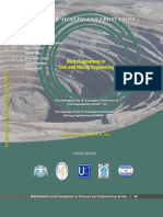 RECENT ADVANCES in CIVIL andMINING ENGINEERING