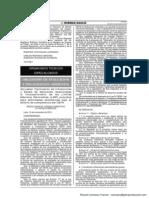 Infracciones y Escala de Sanciones relacionadas al incumplimiento de los LMPs - OEFA - Resolución 045-2013-OEFA-CD