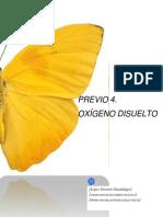 Previo 4. Oxigeno Disuelto