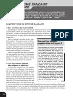 Le Systeme Bancaire en France