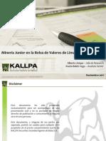 Mineria Junior BVL
