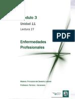 Lectura 27  - Enfermedades Profesionales