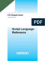 W09E en 01+CX Supervisior+ScriptReference