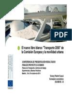 Doc84130 Libro Blanco Del Transporte y La Movilidad Urbana