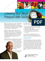 DASH Diet - Foods that lower blood pressure,