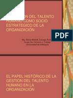 La Gestion Del Talento Humano Como Socio Estrategico[1]