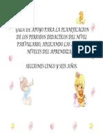 372-L864a-Guia de Apoyo Para La Planificacion de Los Periodos Didacticos Del Nivel Parvulario
