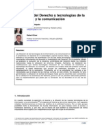 Enseñanza del derecho y tecnologias de la información y comunicación