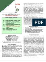 Moraga Rotary Newsletter for November 12th, 2013