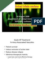 Anca Associated Vasculitis Clinical Trials